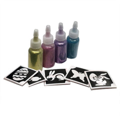 Easter Glitter Tattoo Kit - Silly Farm Supplies