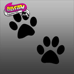 Emoji Paws EJ-14 Glitter Tattoo Stencil 10 Pack - Silly Farm Supplies