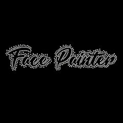 Face Painter Crystal White T-Shirt Transfer - Silly Farm Supplies