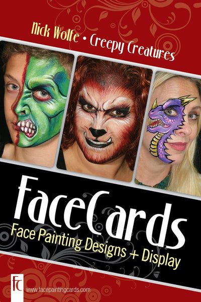FaceCards Creepy Creatures Collection by Nick & Brian Wolfe
