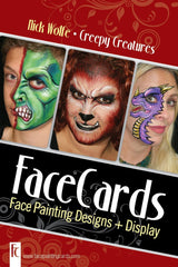 FaceCards Creepy Creatures Collection by Nick & Brian Wolfe - Silly Farm Supplies