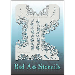 Fancy Pants BAD6076 Bad Ass Stencil - Silly Farm Supplies