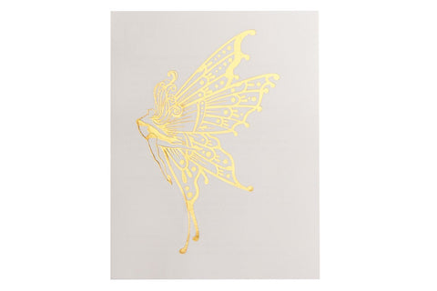 Fantasy Fairy Large Metallic Tattoo 5 Pack