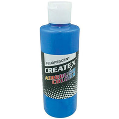 Fluorescent Blue 5403 Createx Fabric Airbrush Paint 2oz - Silly Farm Supplies