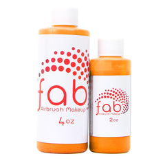 Fluorescent Orange FAB Hybrid Airbrush Makeup - Silly Farm Supplies