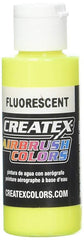 Fluorescent Yellow 5405 Createx Fabric Airbrush Paint 2oz - Silly Farm Supplies