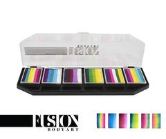Fusion Body Art Leanne's Pretty Rainbow Spectrum Palette - Silly Farm Supplies