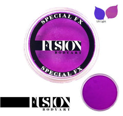 FX UV Neon Violet 32g Fusion Body Art Face Paint - Silly Farm Supplies