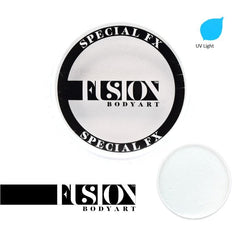 FX UV Neon White (Clear) 32g Fusion Body Art Face Paint - Silly Farm Supplies