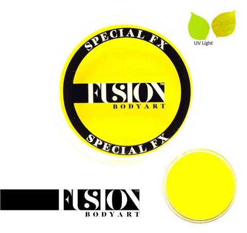 FX UV Neon Yellow 32g Fusion Body Art Face Paint