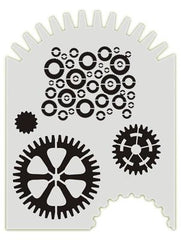 Gears BAD6007 Bad Ass Stencil - Silly Farm Supplies