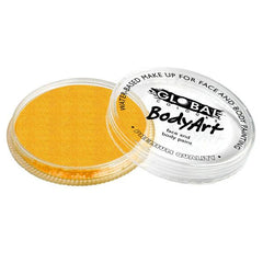 Global Colours Metallic Gold Face Paint 32gm - Silly Farm Supplies