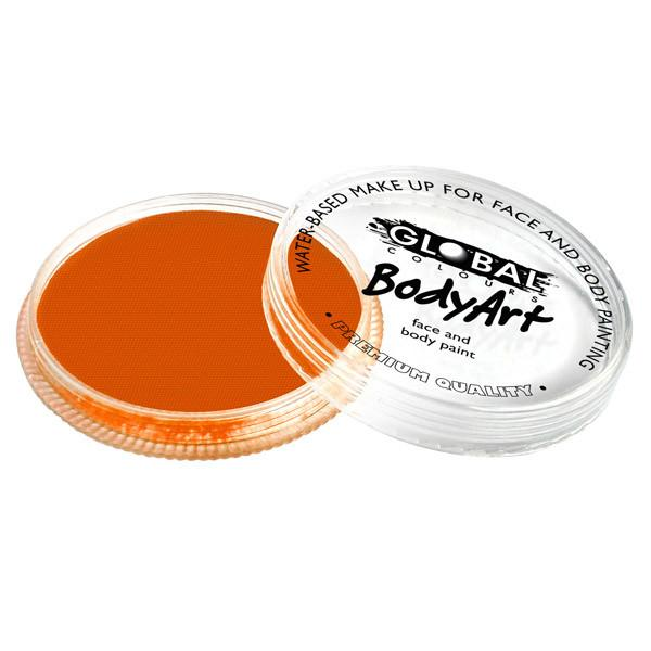 Global Colours Orange Face Paint 32gm