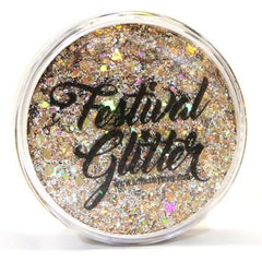 GOLD DIGGER Festival Glitter 50ml (1 fl oz) - Silly Farm Supplies