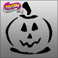 Halloween 4 (pumpkin) Glitter Tattoo Stencil 10 Pack
