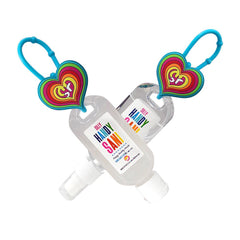Handy Sani Hand Sanitizer Gift Set- 1 gel and 1 spray - Silly Farm Supplies