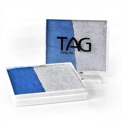 Heavy Metal TAG Split Cake (pearl blue/pearl silver) - Silly Farm Supplies