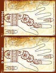 HENNA 6 Kim Brennan Airbrush Stencil Collection - Silly Farm Supplies