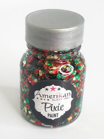 Here Comes Santa Claus Pixie Paint Amerikan Body Art