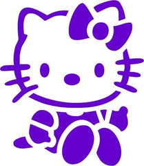 Kitty Trendy Tribal Stencil - Silly Farm Supplies