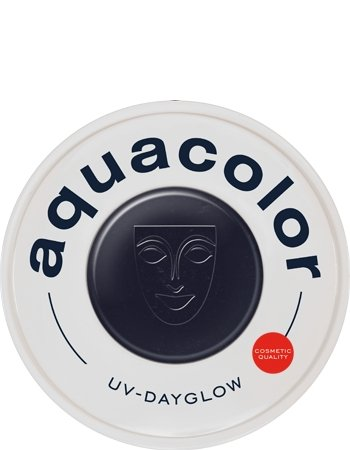 Kryolan AquaColor Day Glow Black