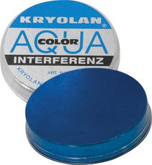 Kryolan AquaColor Interferenz Electric Sparkle Blue I838G 3.5oz - Silly Farm Supplies