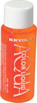 Kryolan Liquid AquaColor Day Glow Orange
