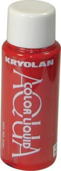 Kryolan Liquid AquaColor Day Glow Red