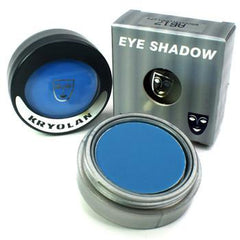 Kryolan Pressed Powder Compact UV Day Glow Blue - Silly Farm Supplies