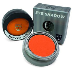 Kryolan Pressed Powder Compact UV Day Glow Orange - Silly Farm Supplies