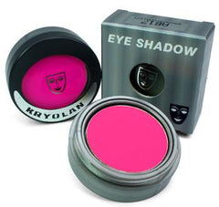 Kryolan Pressed Powder Compact UV Day Glow Pink - Silly Farm Supplies