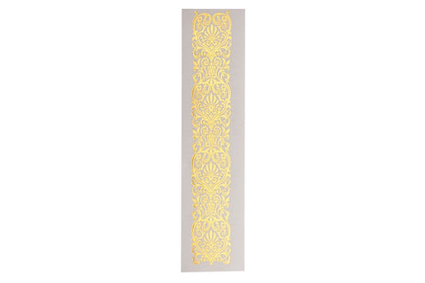 Lace Band Large Metallic Tattoo 5 Pack