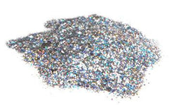 Large Cut Silver 12oz Mama Clown Glitter - Silly Farm Supplies