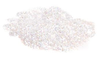 Large Cut White Glitter Dust 12oz Mama Clown Glitter