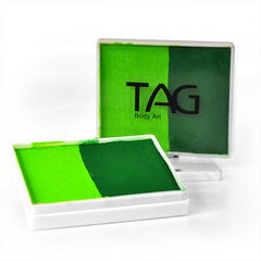 Leafy TAG Split Cake (light green/medium green) - Silly Farm Supplies