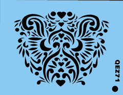 Lioness QuickEZ Stencil - Silly Farm Supplies