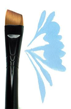 "Majestic 1/2"" Angular Deer Foot Brush (4160)"