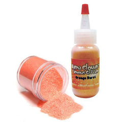 Mama Clown Glitter Orange Burst - Silly Farm Supplies
