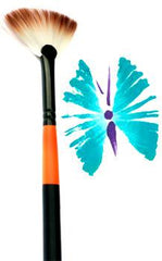 Mark Reid Signature Fan Brush - Silly Farm Supplies