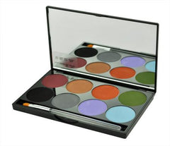 Mehron 8-Color INtense Pro EARTH Palette - Silly Farm Supplies