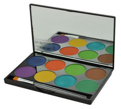 Mehron 8-Color INtense Pro WIND Palette - Silly Farm Supplies