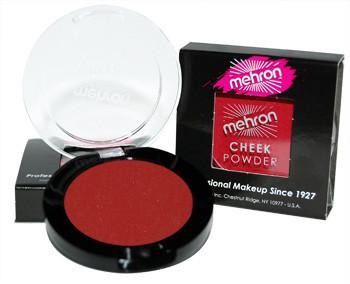 Mehron Cheek Powder Bold Red