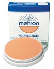 Mehron Foundation Greasepaint Light Auguste 1.25oz - Silly Farm Supplies