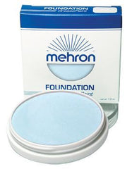 Mehron Foundation Greasepaint Moonlight White 1.25oz - Silly Farm Supplies