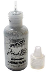 Mehron GlitterMark Silver .5oz - Silly Farm Supplies