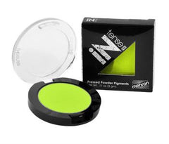 Mehron INtense Pro Powder Electric Green - Silly Farm Supplies
