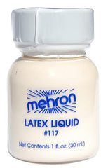 Mehron Liquid Latex Clear - Silly Farm Supplies