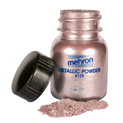 Mehron Metallic Powder Rose - Silly Farm Supplies
