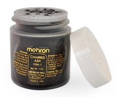 Mehron Specialty Powder Charred Ash - Silly Farm Supplies
