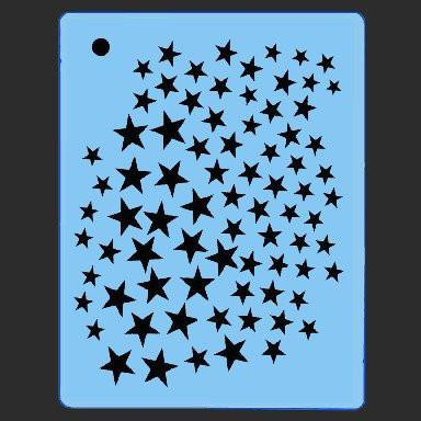 Mini Stars QuickEZ Stencil